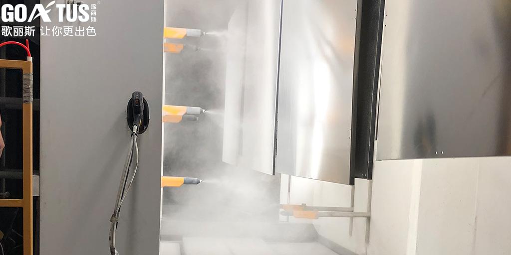 粉末涂料喷涂时供粉量不均匀的原因及解决办法