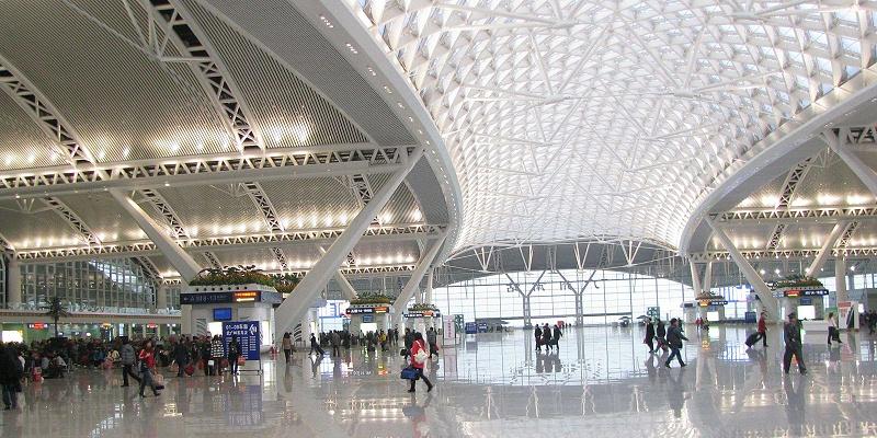 歌丽斯卷材涂料应用于广州南站